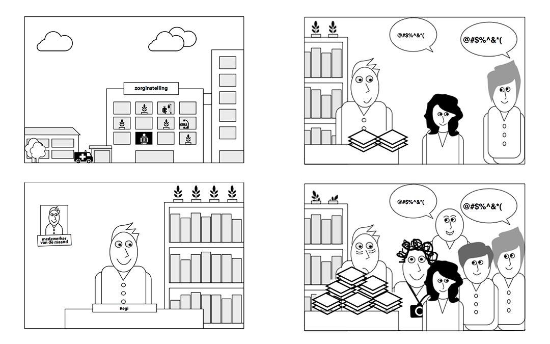 Animatie storyboard